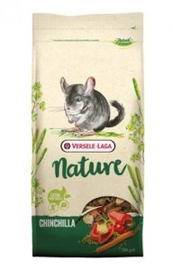 Chinchilla Nature 700g x 5 szt + Chinchilla Nature Fibrefood 1kg