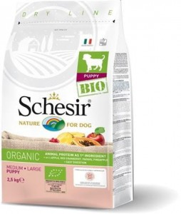 Schesir - BIO Medium/Large Puppy 2.5kg